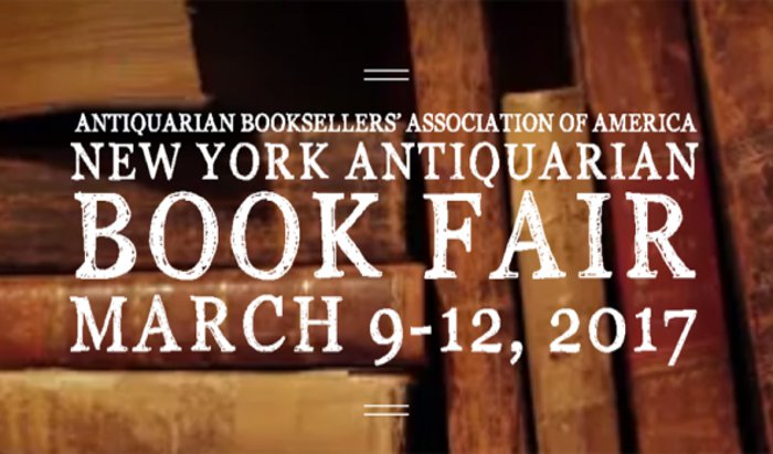 New York Antiquarian Book Fair 2017