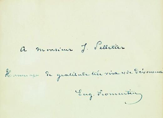 Fromentin, Eugène. Dominique, 1863.