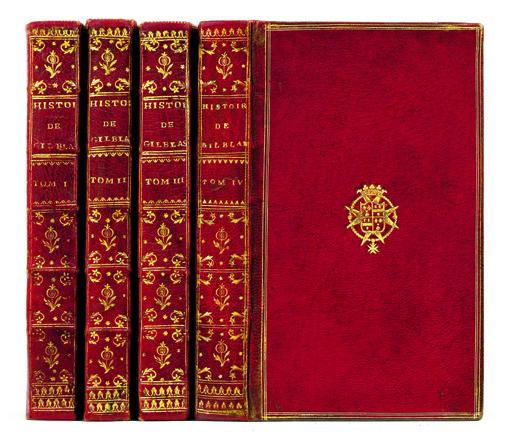 Le Sage, Alain René. Histoire de Gil Blas de Santillane, 1747.
