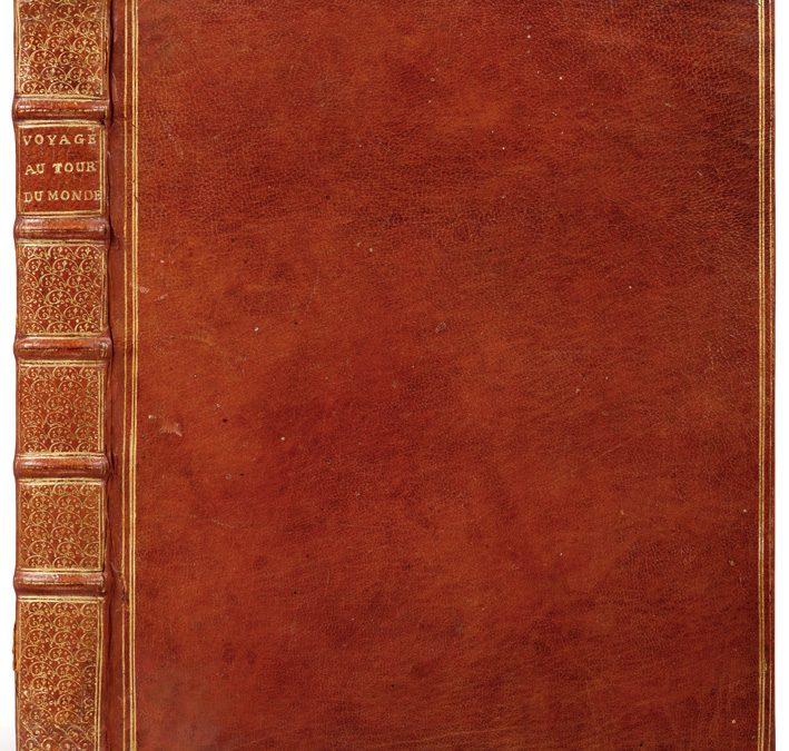 Anson. Voyage autour du monde, 1749.