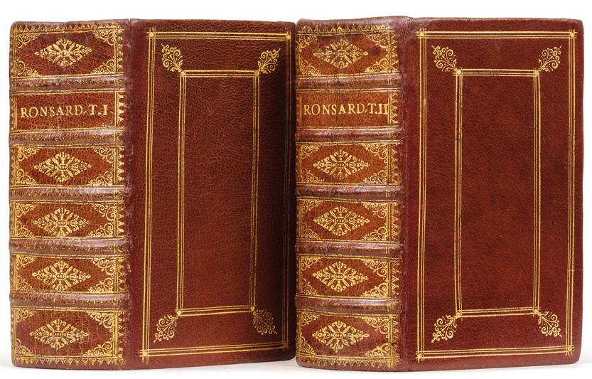Les Œuvres de P. de Ronsard gentilhomme vendômois.