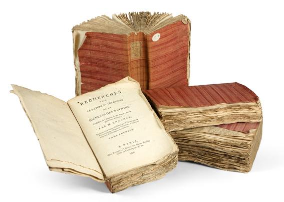 Smith Adam. Recherches sur la nature et les causes de la richesse des nations, 1790-1791.