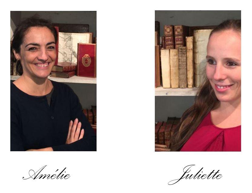 La librairie Amélie Sourget est heureuse de vous présenter son équipe.