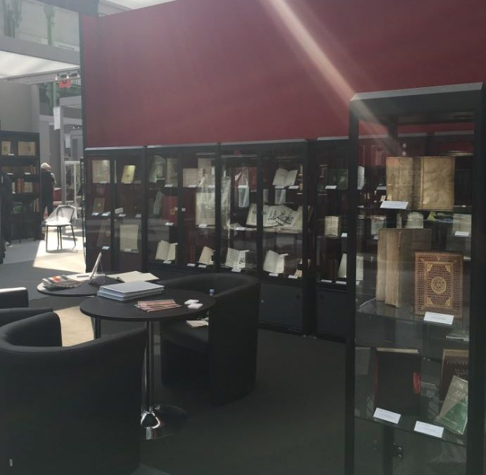 Salon International du Livre Rare Paris, Grand Palais, 13-15 avril 2018