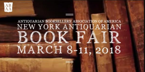 The New York Antiquarian Book Fair