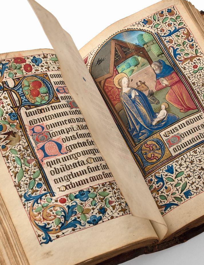 Heures à l'usage de Lisieux, towards 1480-1490.