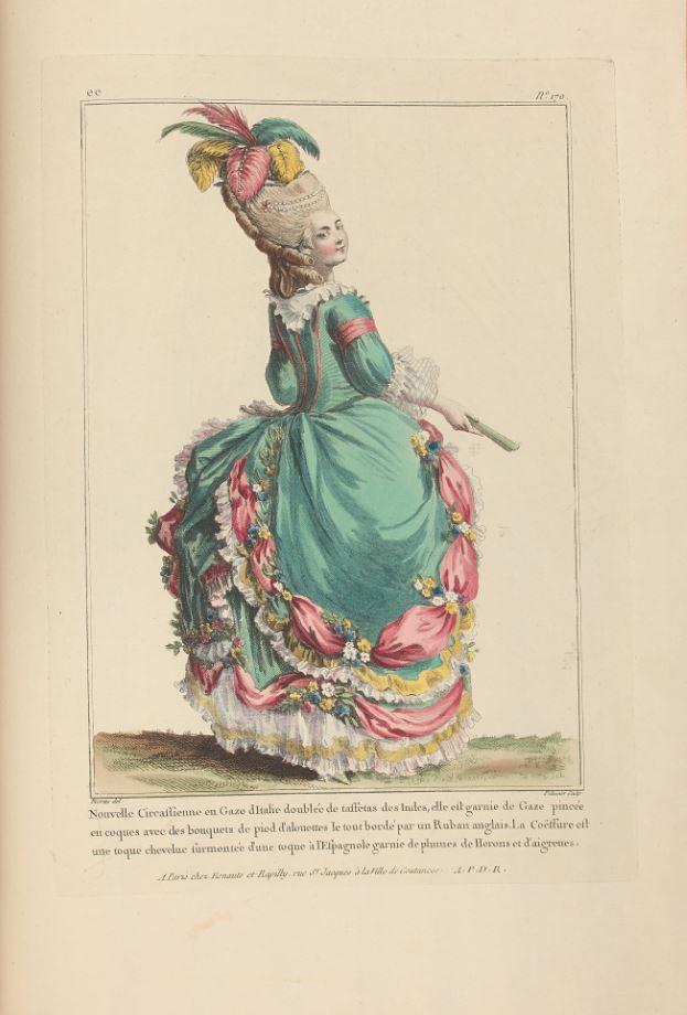 Watteau. Costumes, 1778