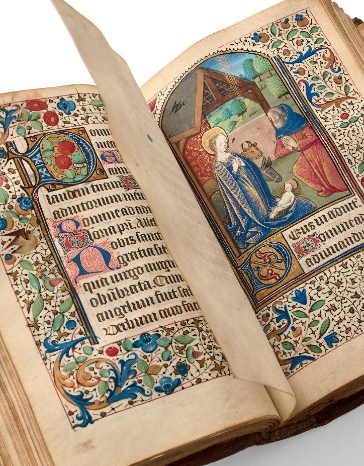 Heures à l'usage de Lisieux, 1480-1490
