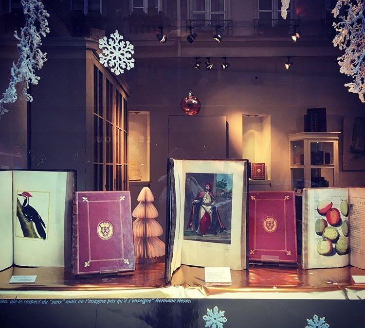 À l'approche des fêtes de fin d'année : notre vitrine