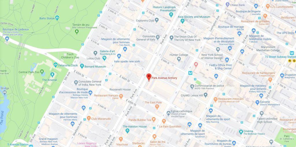 Park Avenue Armory, 643 Park Avenue, New York
