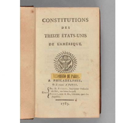 Constitution Amérique