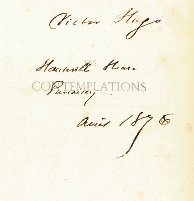 Victor Hugo «le roi des mots» (J. Lemaitre).