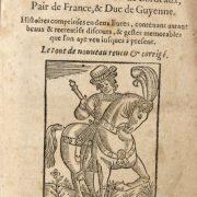 Listoire et faits du tres-Preux noble & vaillant Huon de Bordeaux